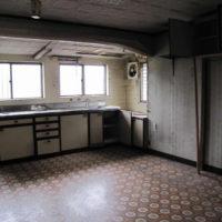 施工前・キッチン